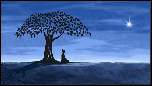 Buddha-under-Boddhi-tree