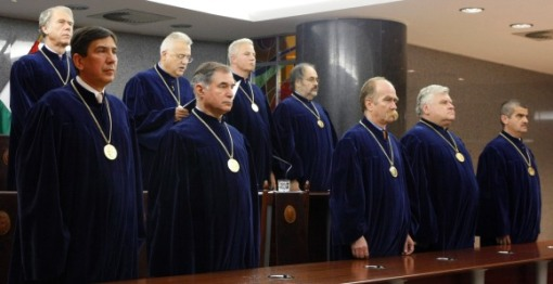 Judges of Hungarian Constitutional Court