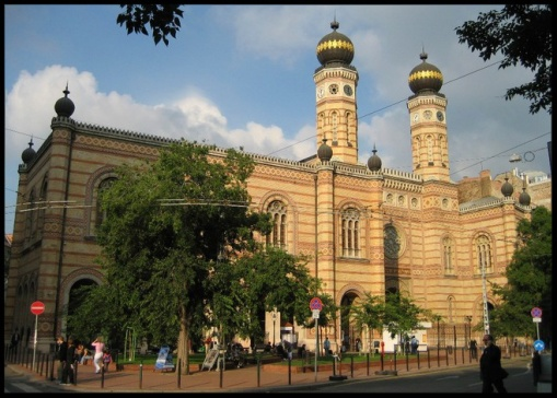 Main synagogue in Budapest, Hungary