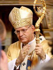 Hungaran Cardinal Peter Erdo