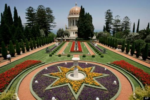 Baha'i temple in Haifa, Israel