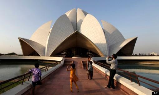 Baha'i Lotus Temple, New Delhi, India