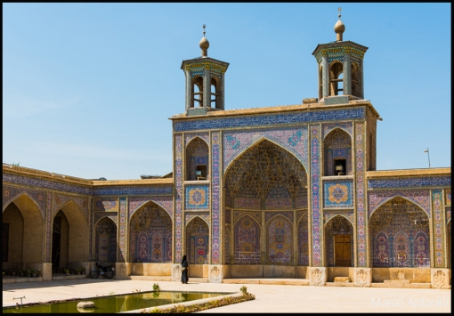 photo essay nasir al mulk pink mosque of central  from the outside the nasir al mulk mosque in shiraz seems like a fairly traditional house of worship but it s hiding a gorgeously colorful secret