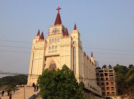 Sanjiang Church before demolition