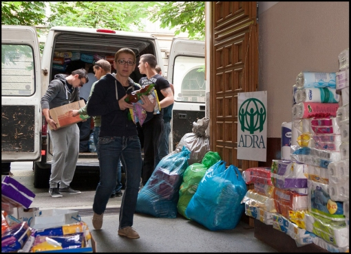 Adventist Development and Relief Agency (ADRA) distributed  a total of 107 tons of water, food, and clothes: 30 tones to Serbia, 37 tones to Bosnia and 40 tones to Eastern Croatia. The next project is to help the local people in cleaning their communities and helping them to get their life back to normal.