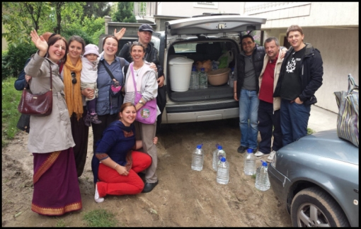 The Food For Life team in Bosnia-Herzegovina