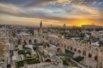 Jerusalem's iconic Citadel (now the Tower of David Museum of the History of Jerusalem) is a fortress with archaeological findings spanning over 2,000 years.